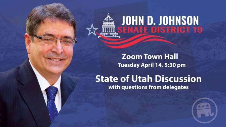 Town Hall Zoom Meeting April 14 2020