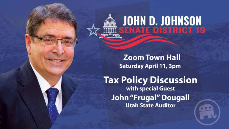 """Talking Tax Policy with John """"Frugal"""" Dougall"""