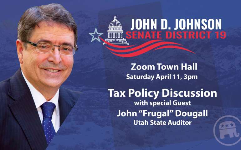 "Talking Tax Policy with John ""Frugal"" Dougall"